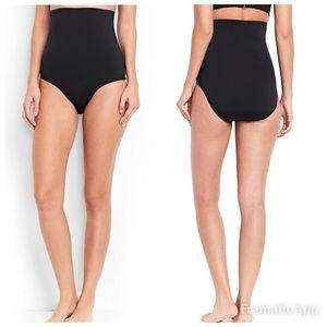 Lands End bikini bottoms ultra high waisted 14
